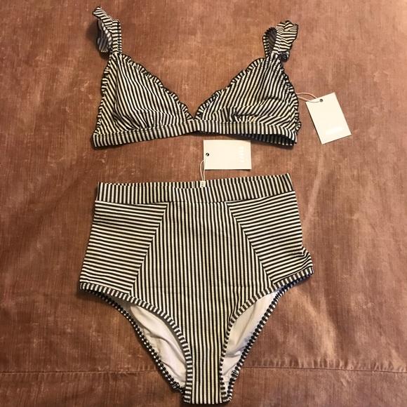 90b622061a2f NWT Suboo Ziggy high waisted bikini size 12